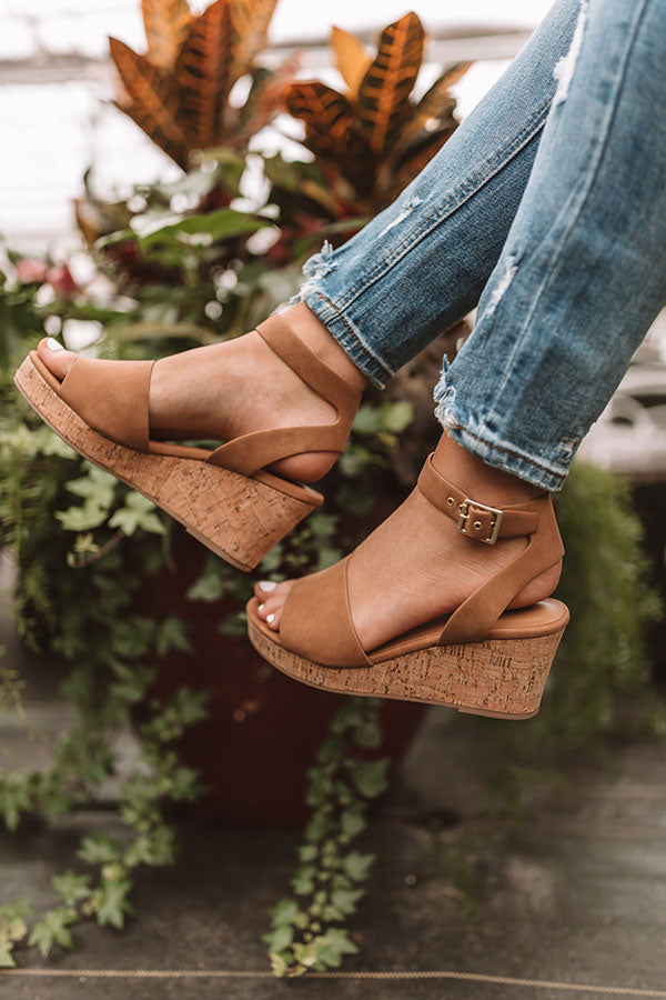 The Bellamy Wedge In Tan