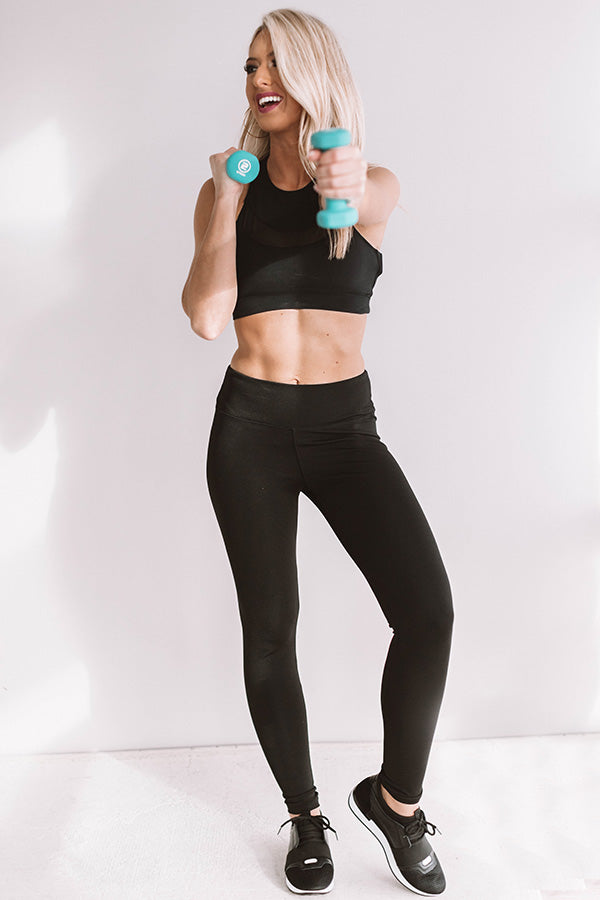 Cardio Queen High Waist Legging