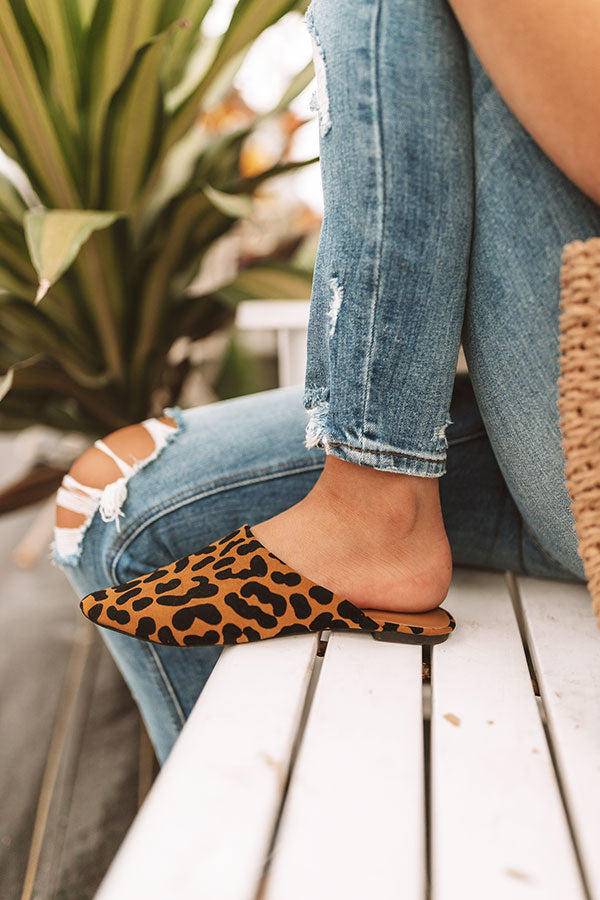 The Lissa Leopard Flat