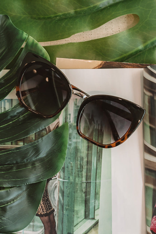 Ocean Views Sunnies In Tortoiseshell Ombre