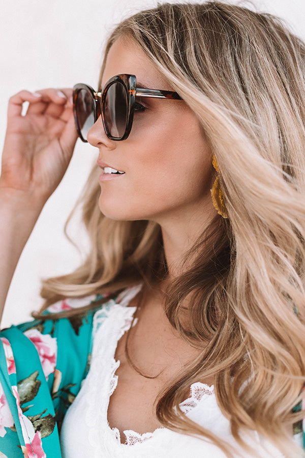 Ocean Views Sunnies In Tortoiseshell