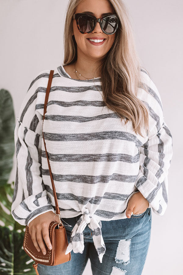 Sugar And Chic Stripe Top