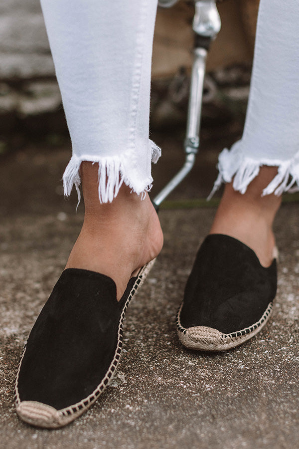 The Brielle Flat In Black