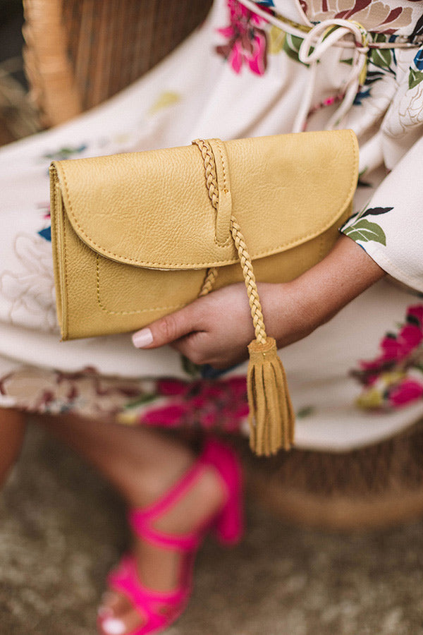 Viva Vacay Clutch in Primrose Yellow