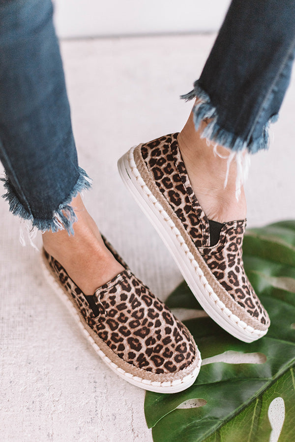 The Hallie Leopard Sneaker