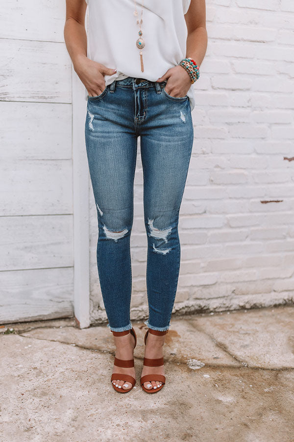 The Aurora Midrise Ankle Skinny