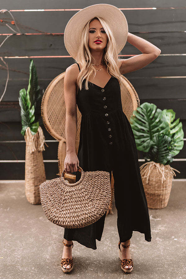 Styled For Paradise Jumpsuit In Black