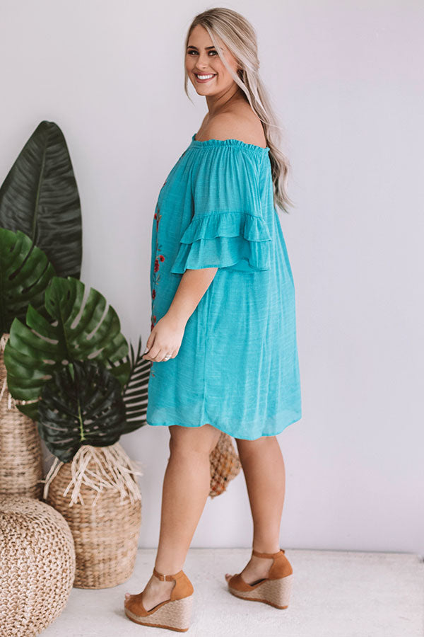 Bahama Bliss Embroidered Dress