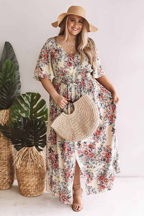 Bayside Breeze Maxi Dress In Light Sage