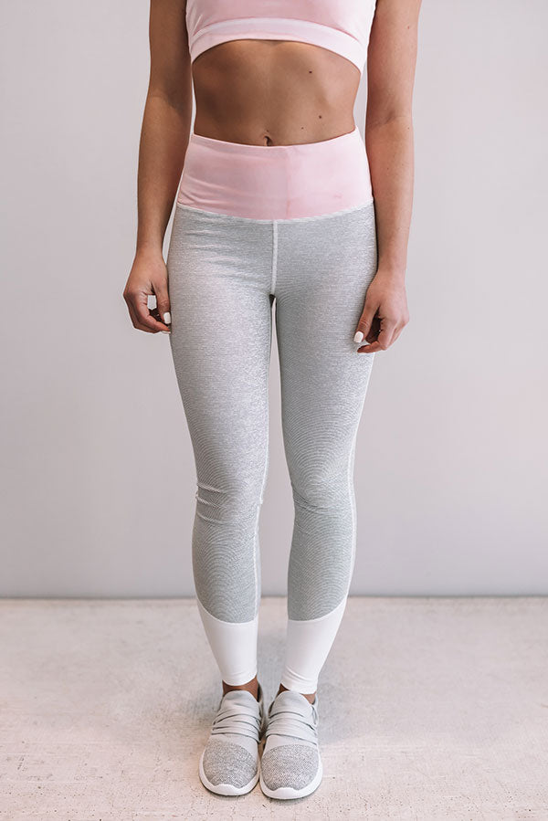 The Loulou High Waist Stripe Legging