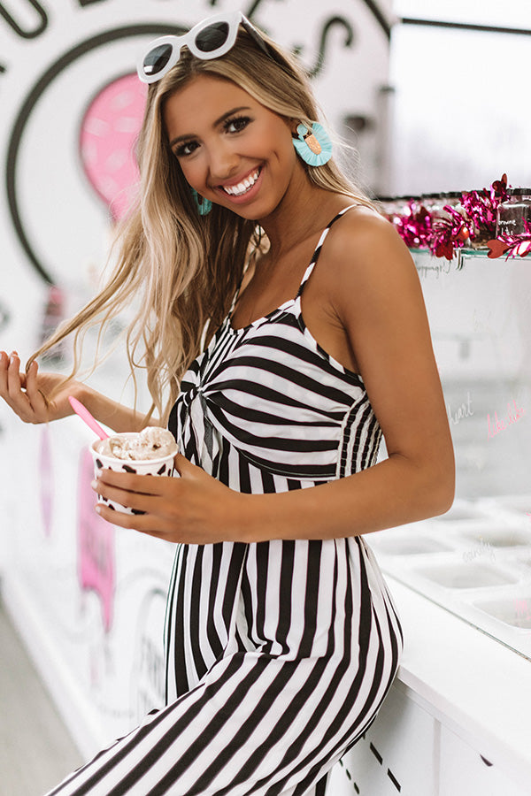 Rooftop Soiree Stripe Jumpsuit