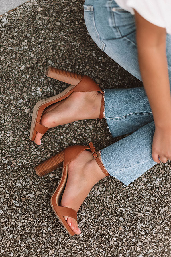 The Isabelle Heel In Brown