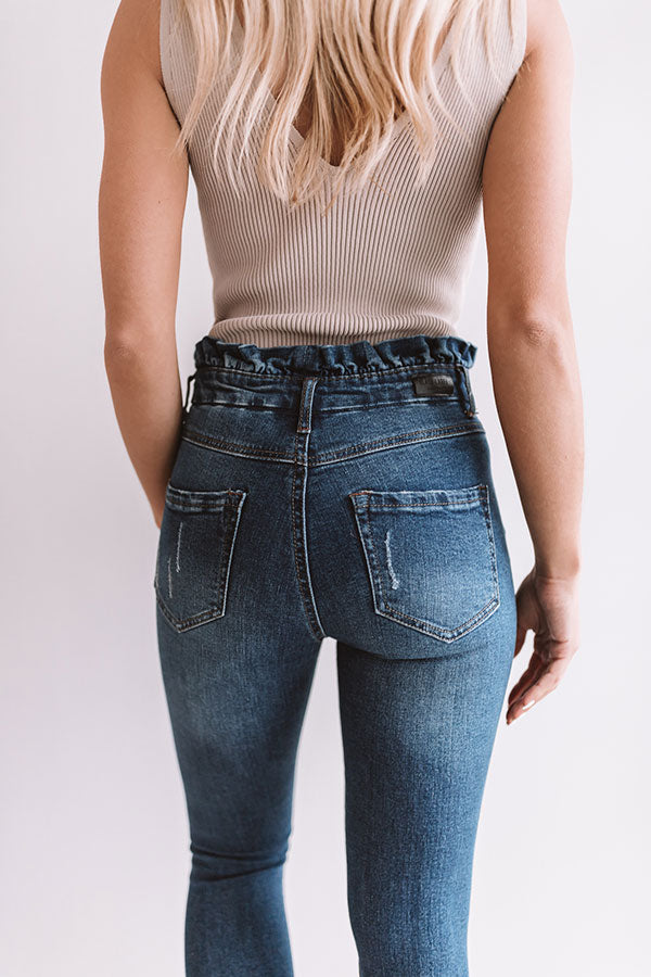 The Lissa High Waist Distressed Denim
