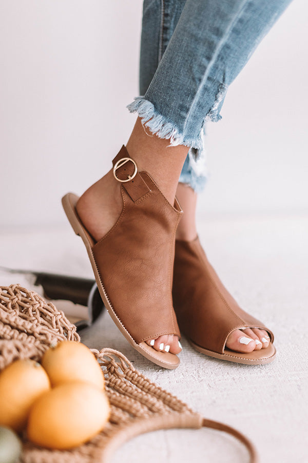 The Hannon Sandal In Brown