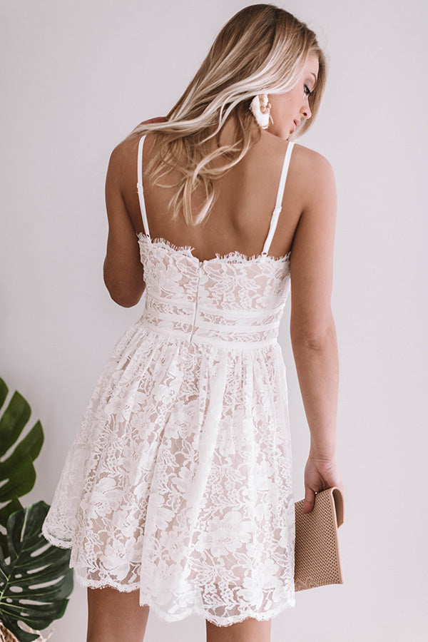 Completely Smitten Lace Dress