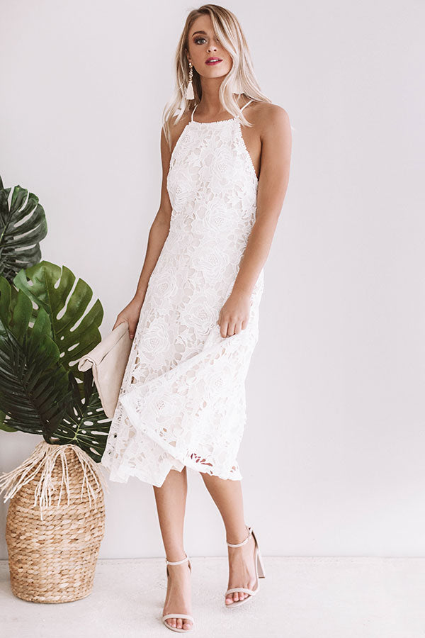 Rose Garden Crochet Dress