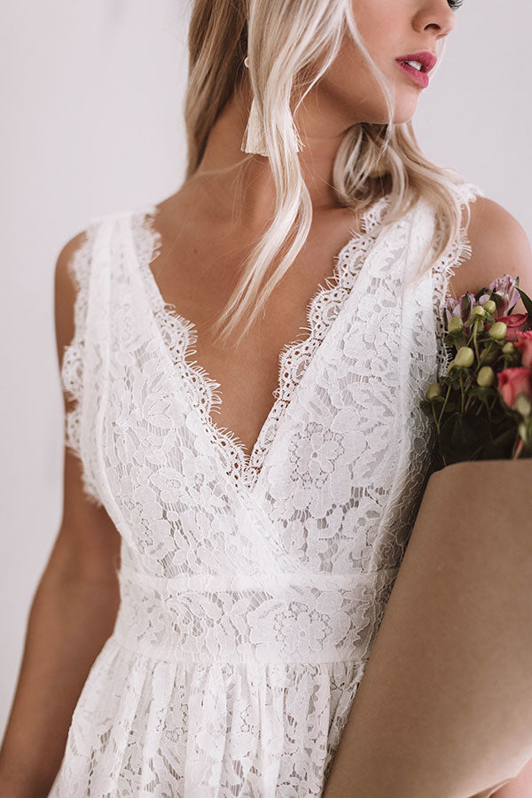 Date Night Perfection Lace Dress