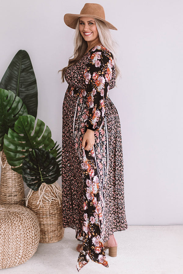 Delightful In Floral Maxi
