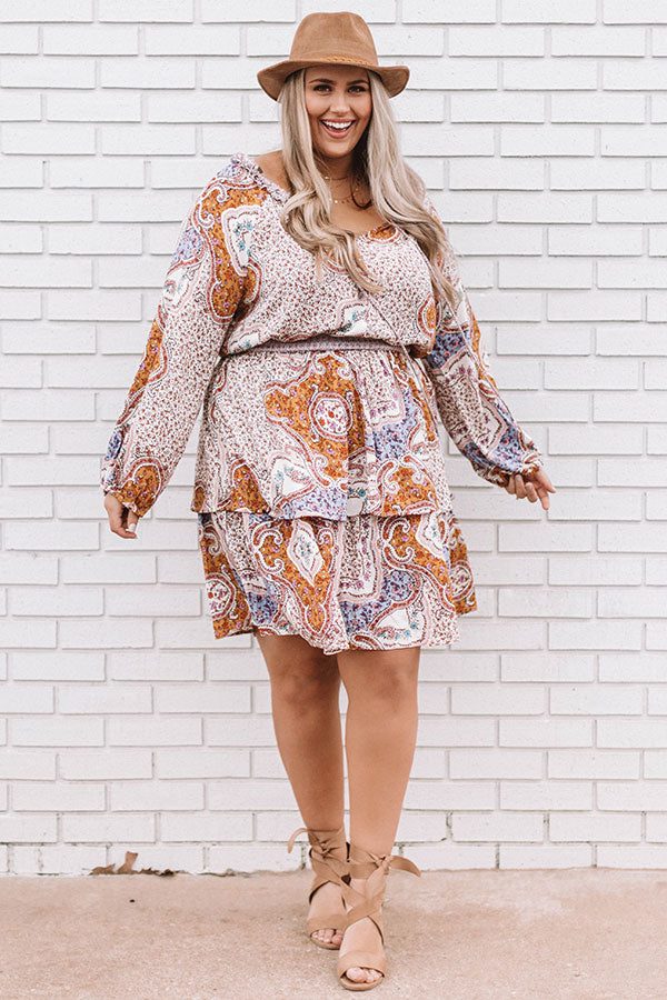 Gelato And Twirls Paisley Dress