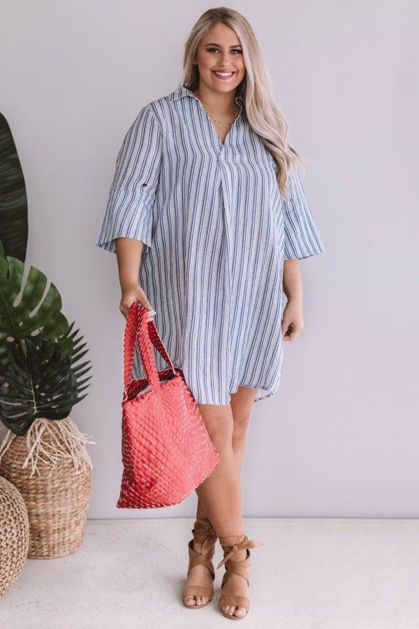 Pacific Coast Casual Shift Dress