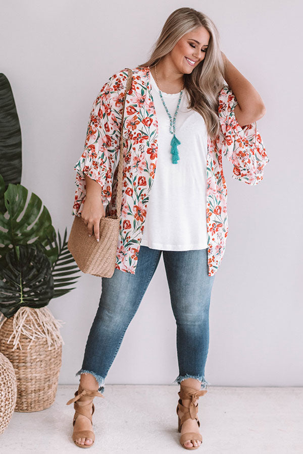 Floral Crush Overlay In Pink