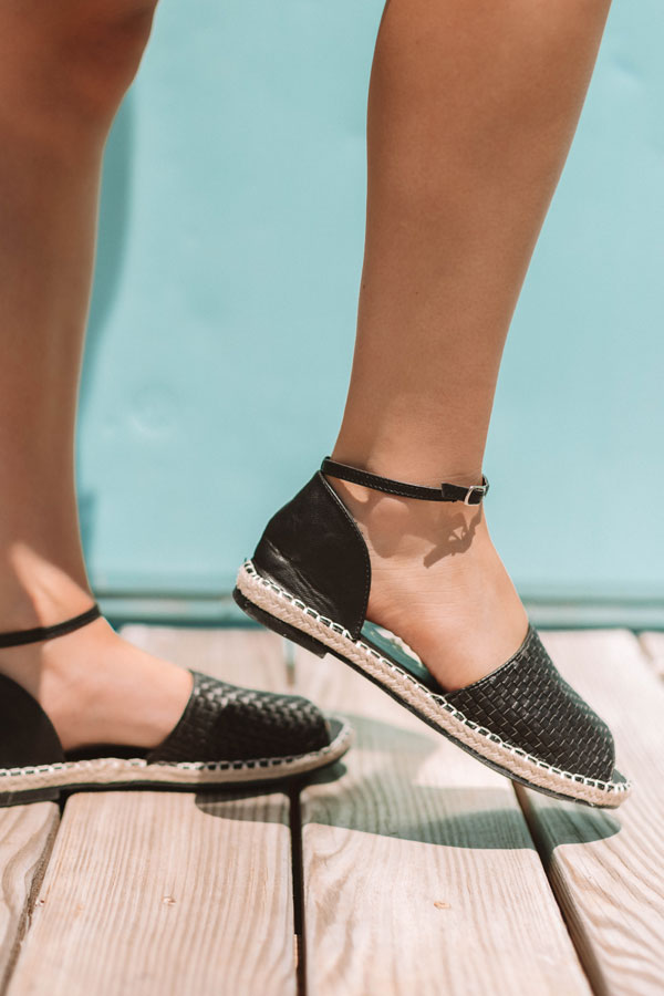 The Maeve Sandal In Black