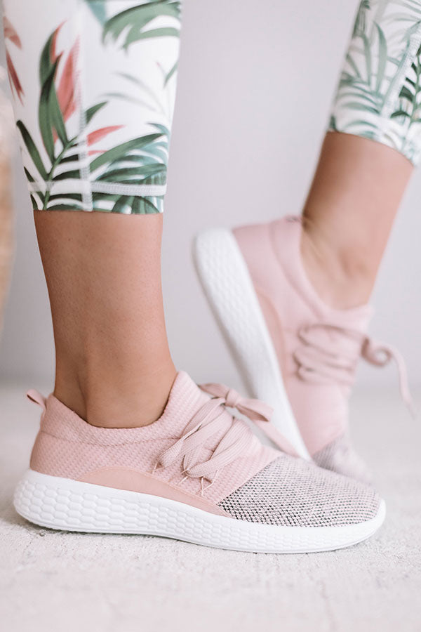 The Carter Sneaker In Pink