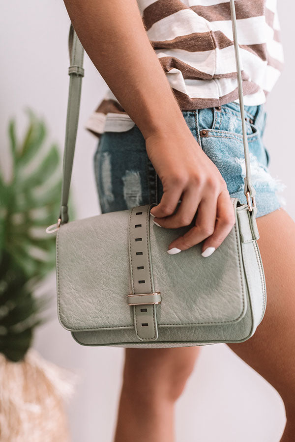 First Class To Florence Crossbody In Pear