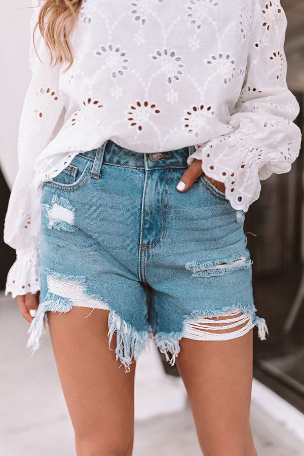 The Oh So Classic High Waist Shorts