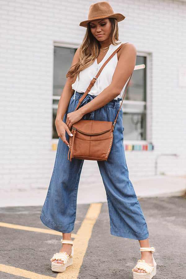 City Swooning Crossbody In Cinnamon