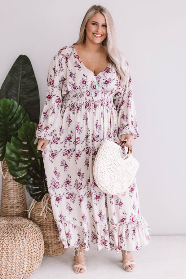 Florals Forever Maxi Dress