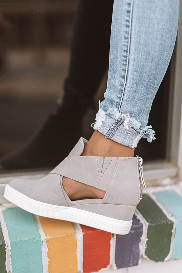 The Calum Bootie In Grey