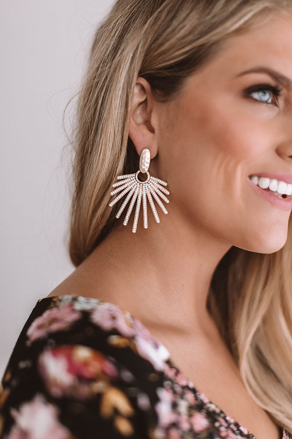 City Swooning Earrings In Ivory