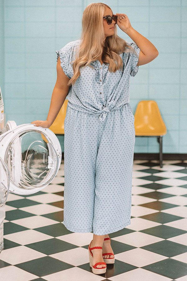 Beachy Brunch Chambray Pants