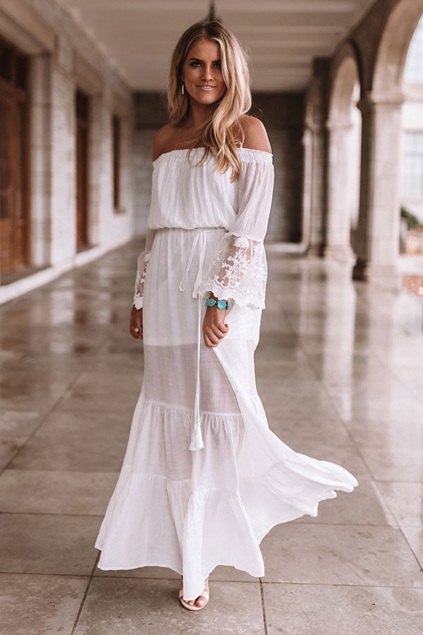 Navarre Beach Off Shoulder Maxi