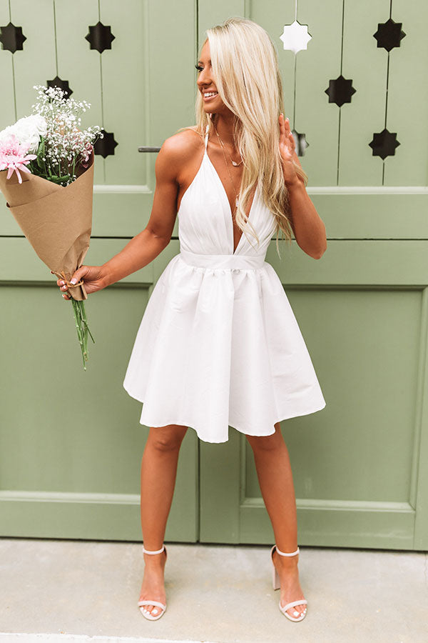 Forever and Always Fit and Flare Dress