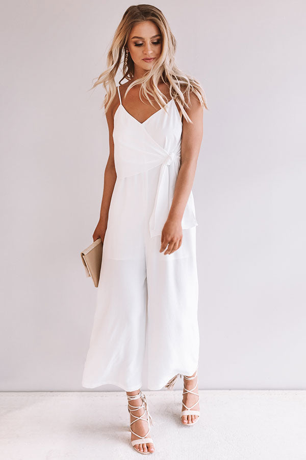 43743acc143 Rooftops and Romance Jumpsuit in White • Impressions Online Boutique