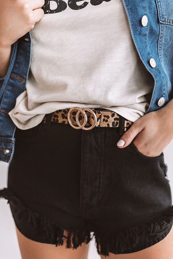 Gorgeous Forever Leopard Belt
