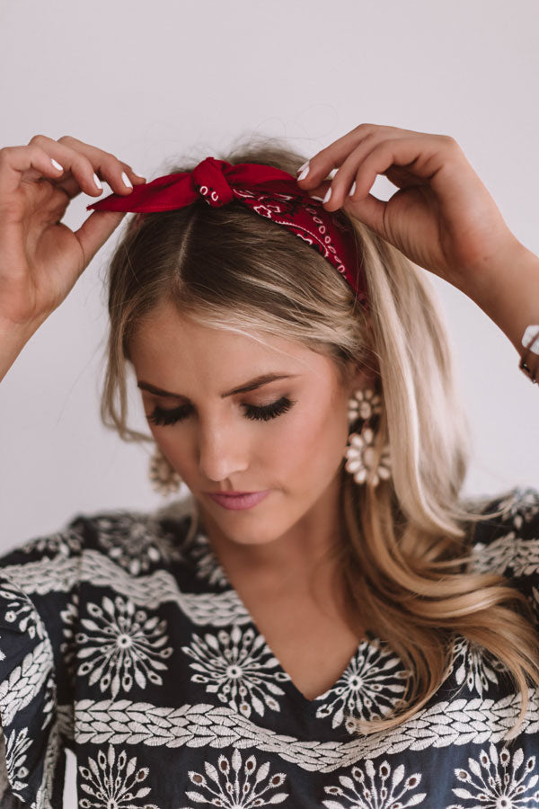The Key West Paisley Bandanna