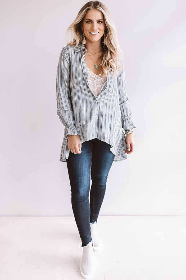Shoreline Staple Stripe Tunic