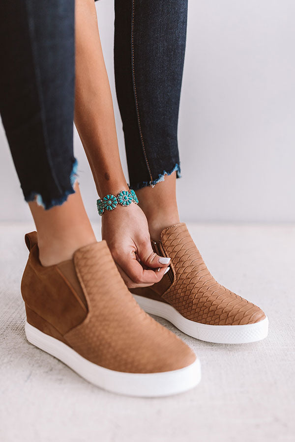 The Kendal Bootie In Camel