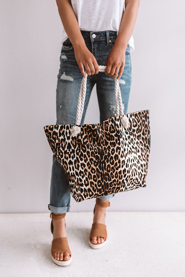 Broadway All Day Leopard Tote