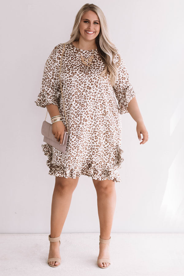 Leopard Love Shift Dress