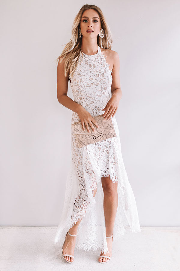 Gala Gorgeous Lace Dress