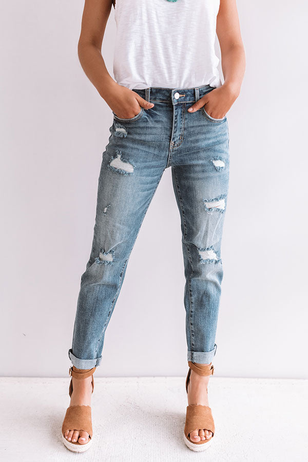 The Drew High Waist Relaxed Skinny