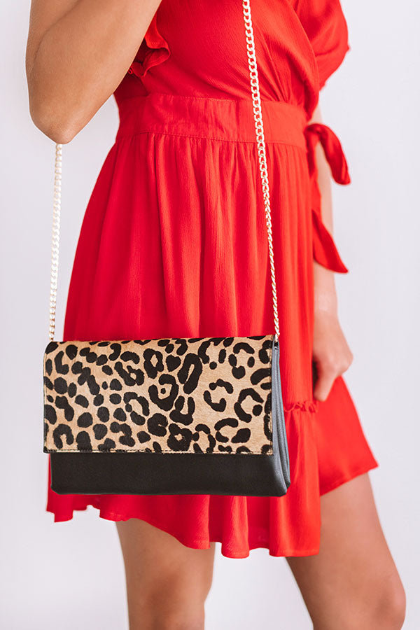 Leopard Perfection Clutch