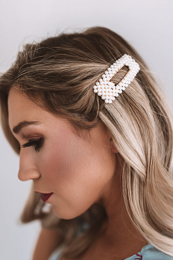 3f592e87e For The Love Of Pearl Hair Clip • Impressions Online Boutique