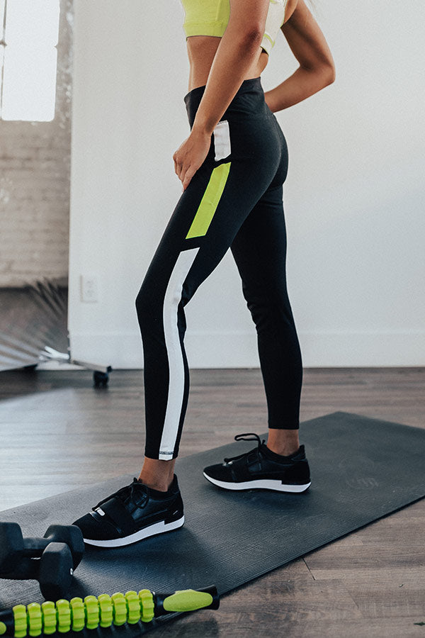 New Threads High Waist Active Legging