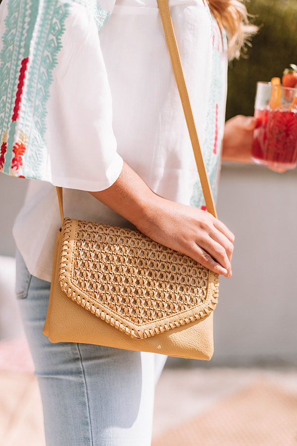 Parisian Travels Crossbody In Primrose Yellow