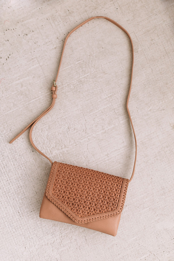 Parisian Travels Crossbody In Tan